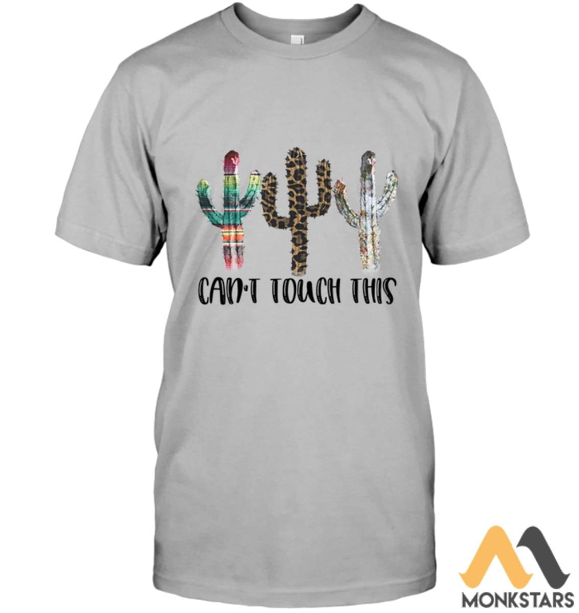 7a80567de7c4 Funny Cactus Shirts Unisex Short Sleeve Classic Tee   Light Steel S Apparel