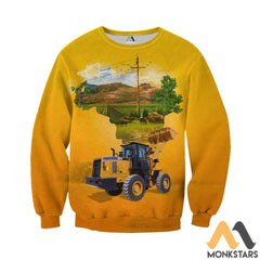 Heavy Equipment 3D All Over Printed Shirts For Men & Women Long-Sleeved Shirt / Xs Clothes