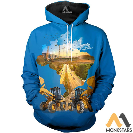 Heavy Equipment 3D All Over Printed Shirts For Men & Women Normal Hoodie / Xs Clothes