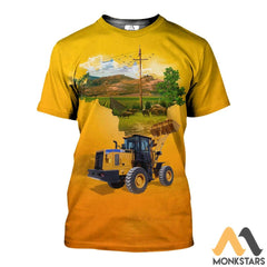 Heavy Equipment 3D All Over Printed Shirts For Men & Women T-Shirt / Xs Clothes