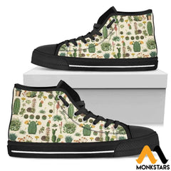 High Top Shoe - Succulent Womens Black / Us5.5 (Eu36)