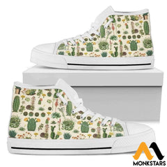 High Top Shoe - Succulent Womens White / Us5.5 (Eu36)