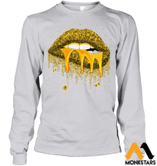 Honey Lips Shirts Gildan 6.1Oz Long Sleeve / Ash Grey S