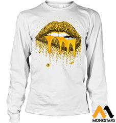 Honey Lips Shirts Gildan 6.1Oz Long Sleeve / White S