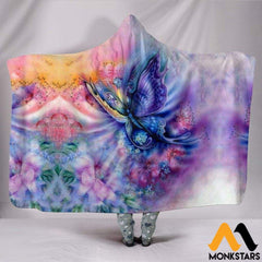 Hooded Blanket - Butterfly