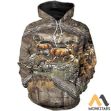 Hunting 3D All Over Printed Shirts For Men & Women