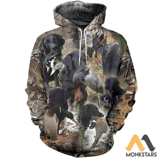 Hunting 3D All Over Printed Shirts For Men & Women Normal Hoodie / Xs Clothes