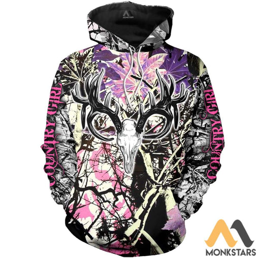 Hunting Deer 3D All Over Printed Shirts For Men & Women Normal Hoodie / Xs Clothes