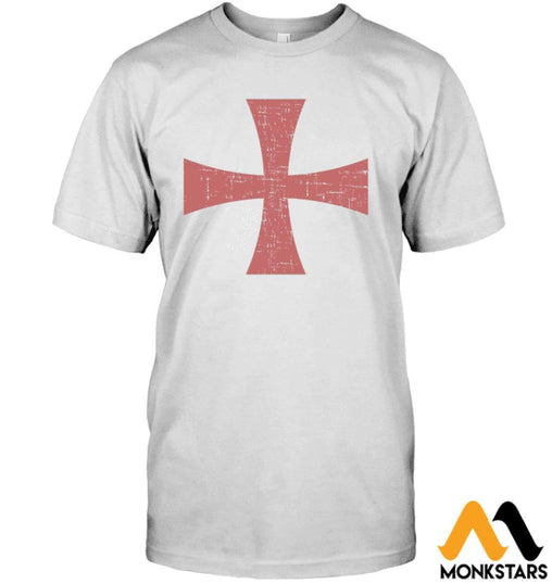 Knight Templar Shirts Hanes Tagless Tee / White S