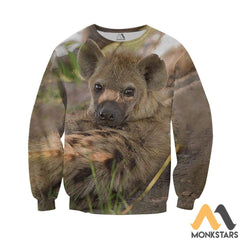 Love Hyenas 3D All Over Printed Shirts For Men & Women Long-Sleeved Shirt / Xs Clothes