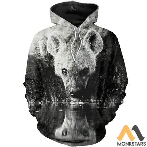 Love Hyenas 3D All Over Printed Shirts For Men & Women Normal Hoodie / Xs Clothes