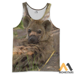 Love Hyenas 3D All Over Printed Shirts For Men & Women Tank Top / S Clothes