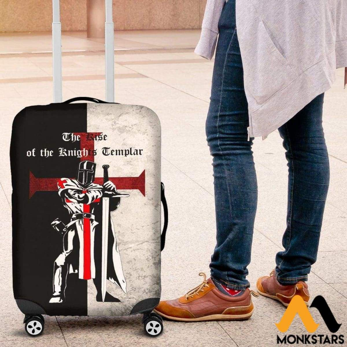 Luggage Cover - The Rise Of The Knights Templar Cover