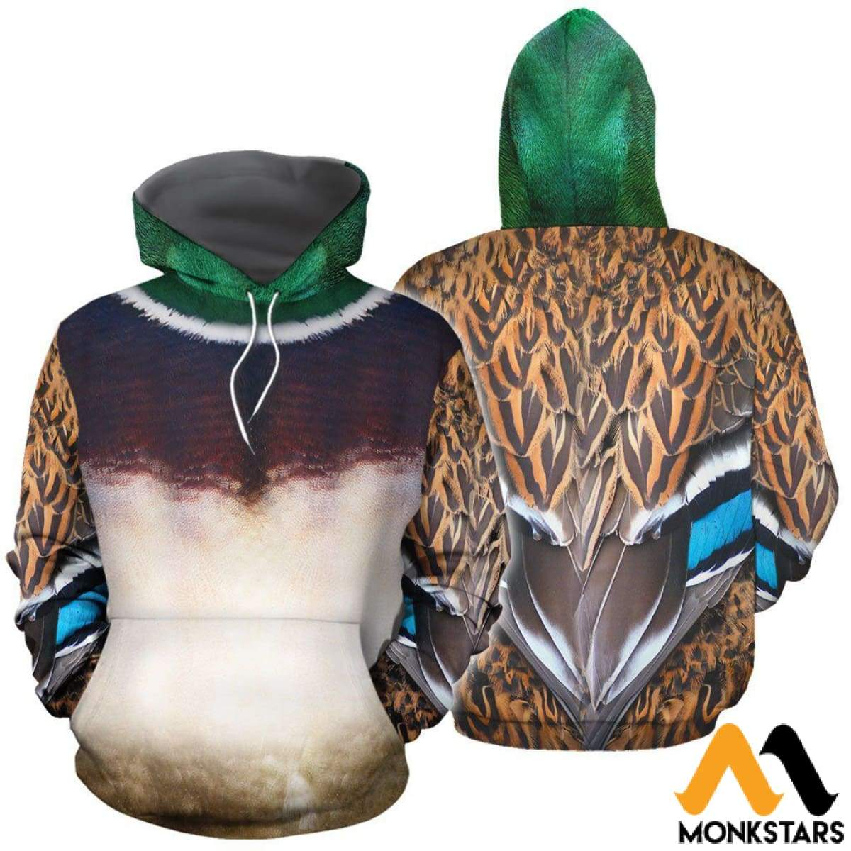 032b10b0edb2 Male Mallard Duck Cover 3D All Over Printed Shirts For Men   Women Normal  Hoodie