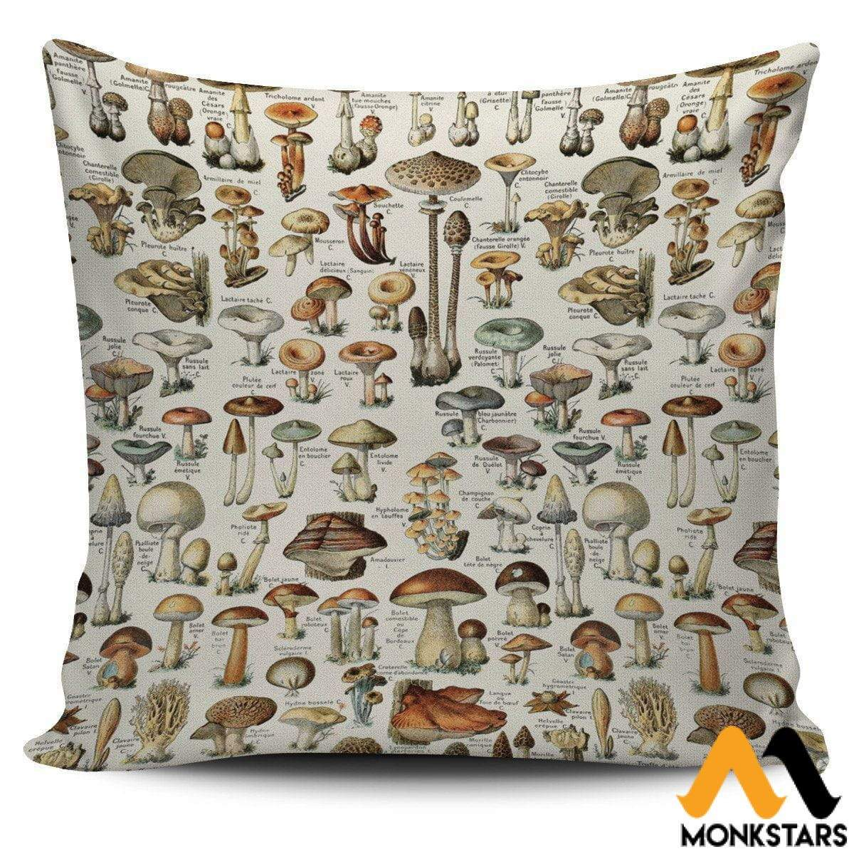 Pillow Covers - Champignons