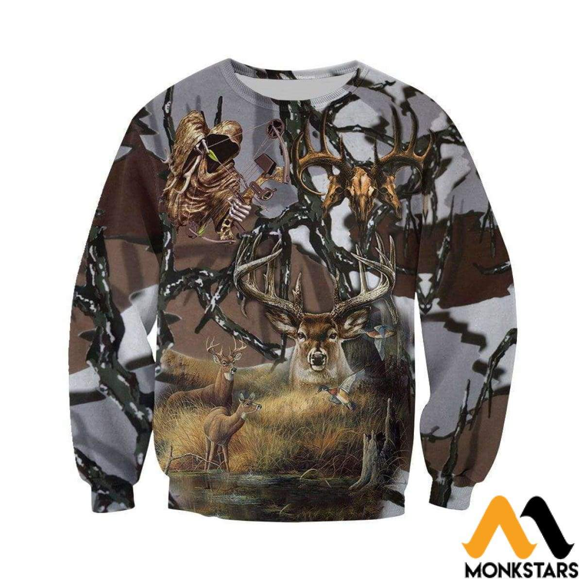 abe1d8183898 Predator Hunting Camo Art 3D All Over Printed Shirts For Men   Women ...