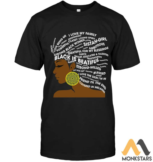 Proud Black Women Shirts Unisex Short Sleeve Classic Tee / S Apparel