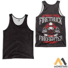 Ride The Firefighter 3D All Over Printed Shirts For Men & Women Tank Top / S Clothes