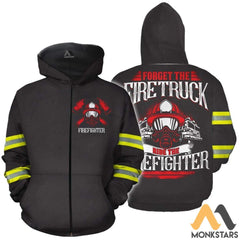 Ride The Firefighter 3D All Over Printed Shirts For Men & Women Zipped Hoodie / Xs Clothes