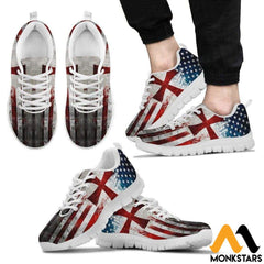 Sneakers - Knight Templar Flag Mens White / Us5 (Eu38)