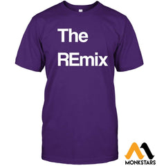 Son - Theremix Hanes Tagless Tee / Purple S Apparel