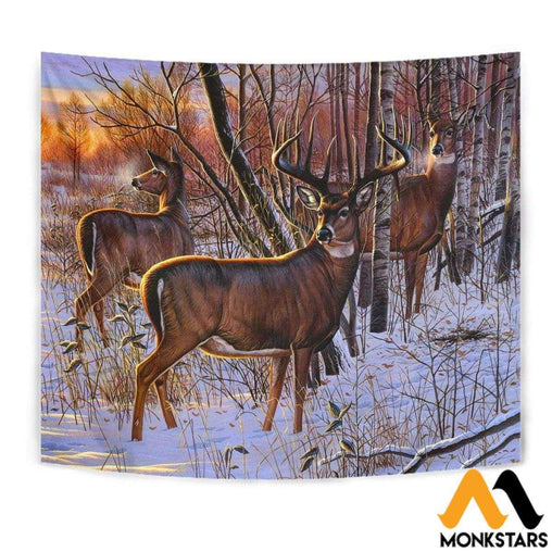 Tapestry - Deer Art