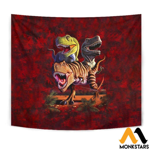 Tapestry - T-Rex Collage