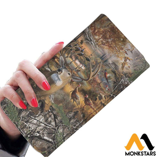 Women Wallet - Hunting Camo Womens