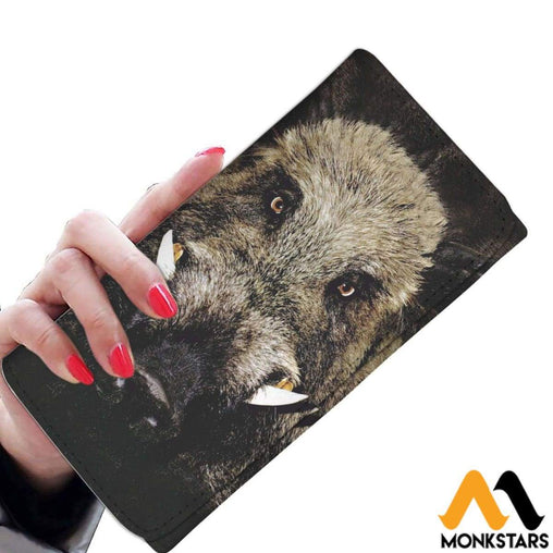 Women Wallet - Wild Boar Womens