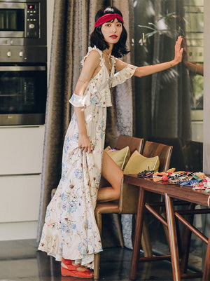 Bohemian Holiday Beach Dress