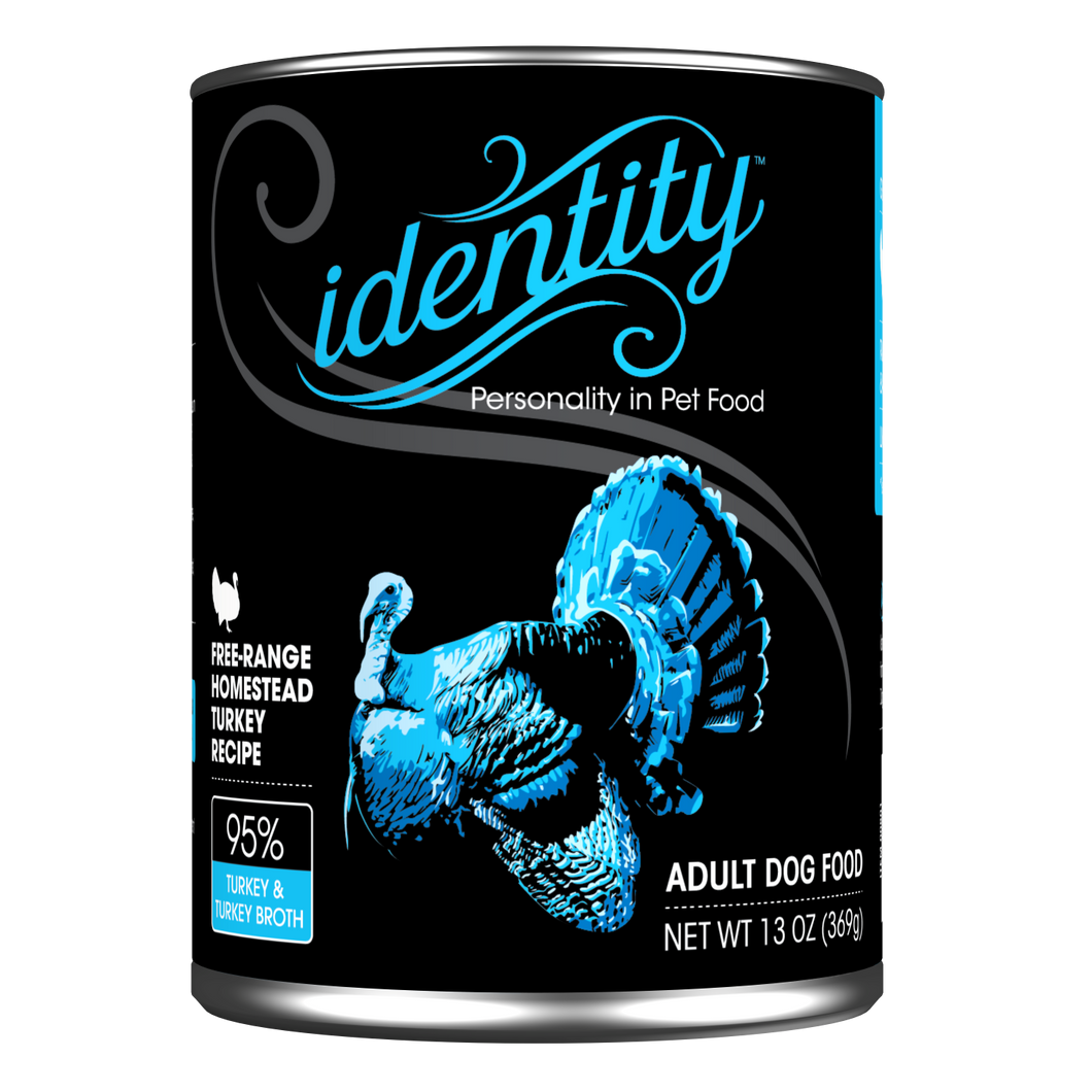 Identity dog Turkey 13oz