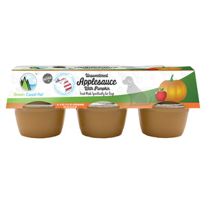 Green Coast Pet Applesauce & Pumpkin 6 pack