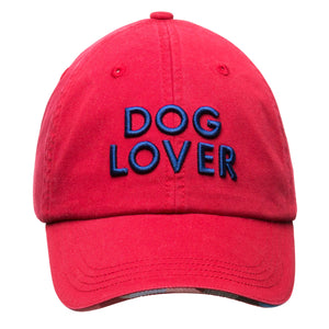Barkology - Barkology® Dog Lover Cap Red
