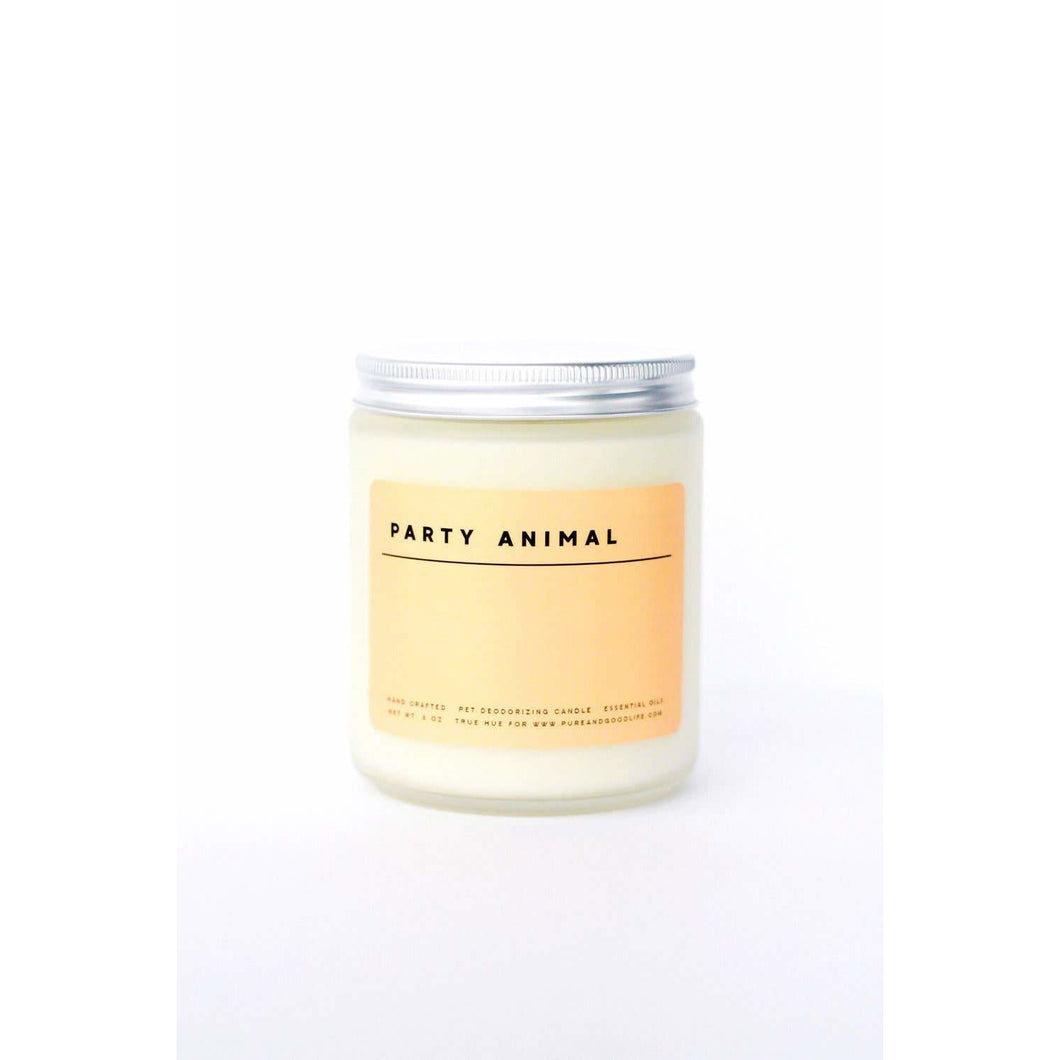 Pure + Good - Party Animal: Sweet Orange + Lime 8 oz Soy Wax Candle