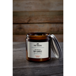 Fox + Hound - Odor Eliminator Soy Candle - Pumpkin Spice