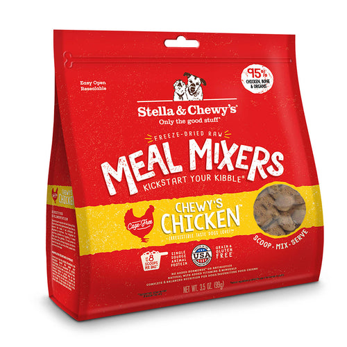 Stella & Chewys freezedried chicken Meal Mixers