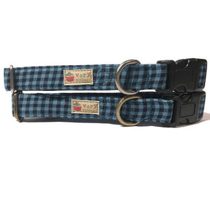 Very Vintage Designs - Maverick - Organic Cotton Pet (Dog & Cat) Collar