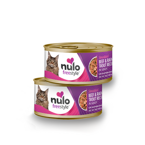 Nulo Shredded beef & trout 3oz