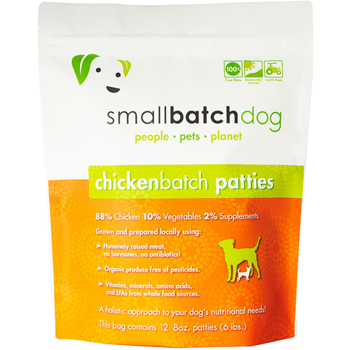 Smallbatch Frozen Chicken for dogs