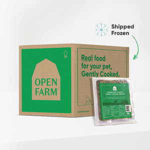 Open Farm gently cooked turkey box, 4.5lb