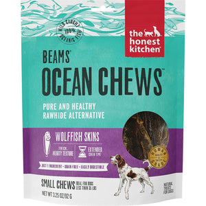 The honest kitchen beams smalls fish skin chews dog