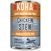 Load image into Gallery viewer, Koha Dog Chicken Stew 12.7oz