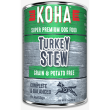 Load image into Gallery viewer, Koha Dog Turkey Stew 12.7oz