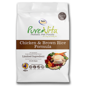 Pure Vita chicken & brown rice