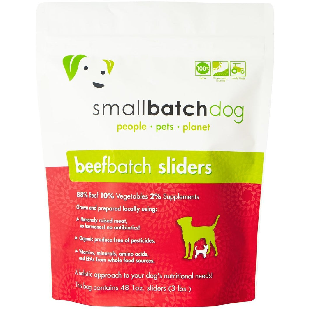 Smallbatch Frozen beef for dogs