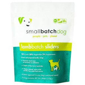 Smallbatch frozen lamb for dogs