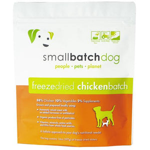 Smallbatch dog chicken sliders freeze-dried