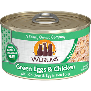 Weruva Cat Can green eggs and chicken 3oz