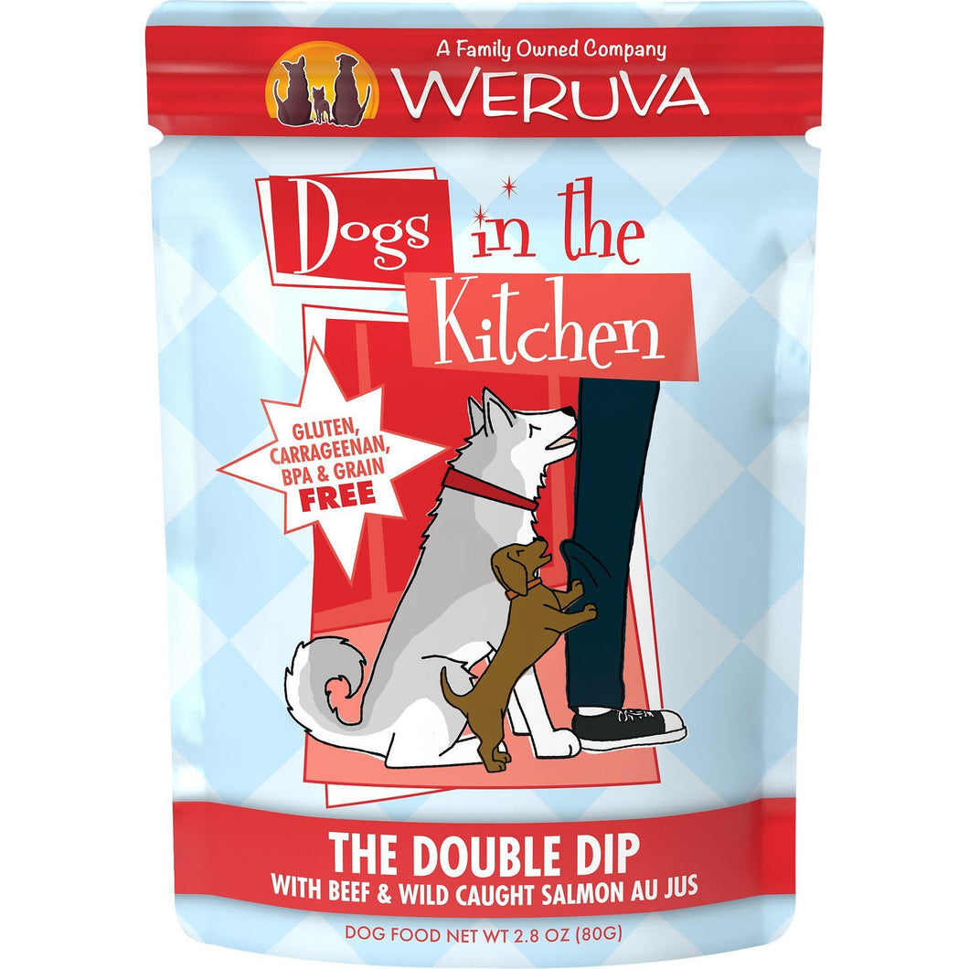 Weruva Dogs in the kitchen pouch the double dip 2.8oz