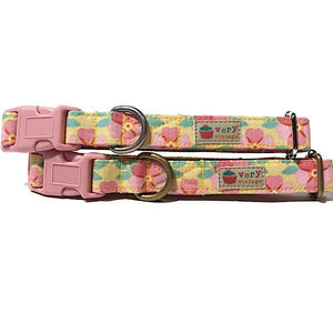 Very Vintage Designs - Golden State - Organic Cotton Pet (Dog & Cat) Collar